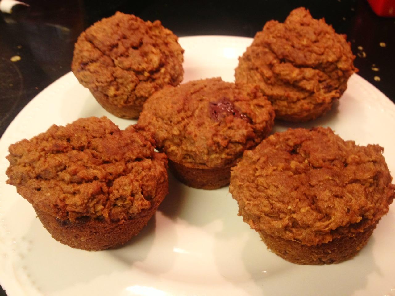 juicing muffins