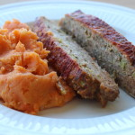 Gluten-Free Skinny Meatloaf with Marble Mash