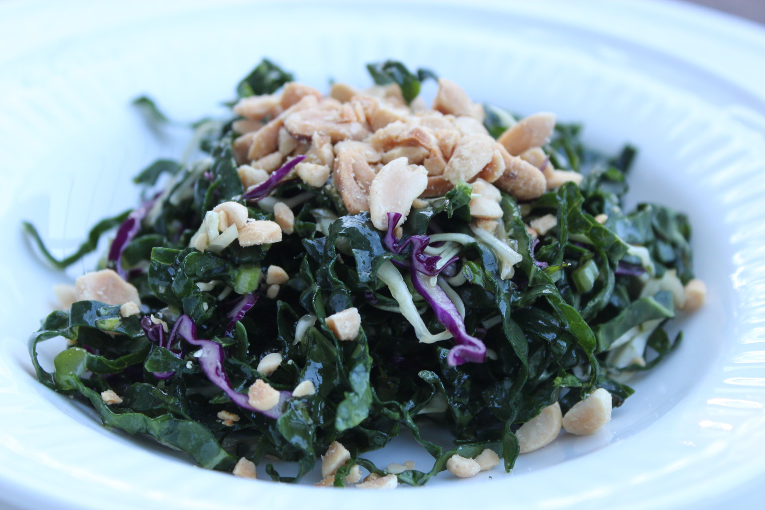 how to eat kale in a salad