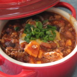 Three Meat and Sweet Potato Chili
