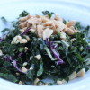Houston's Kale Salad with Peanut Vinaigrette
